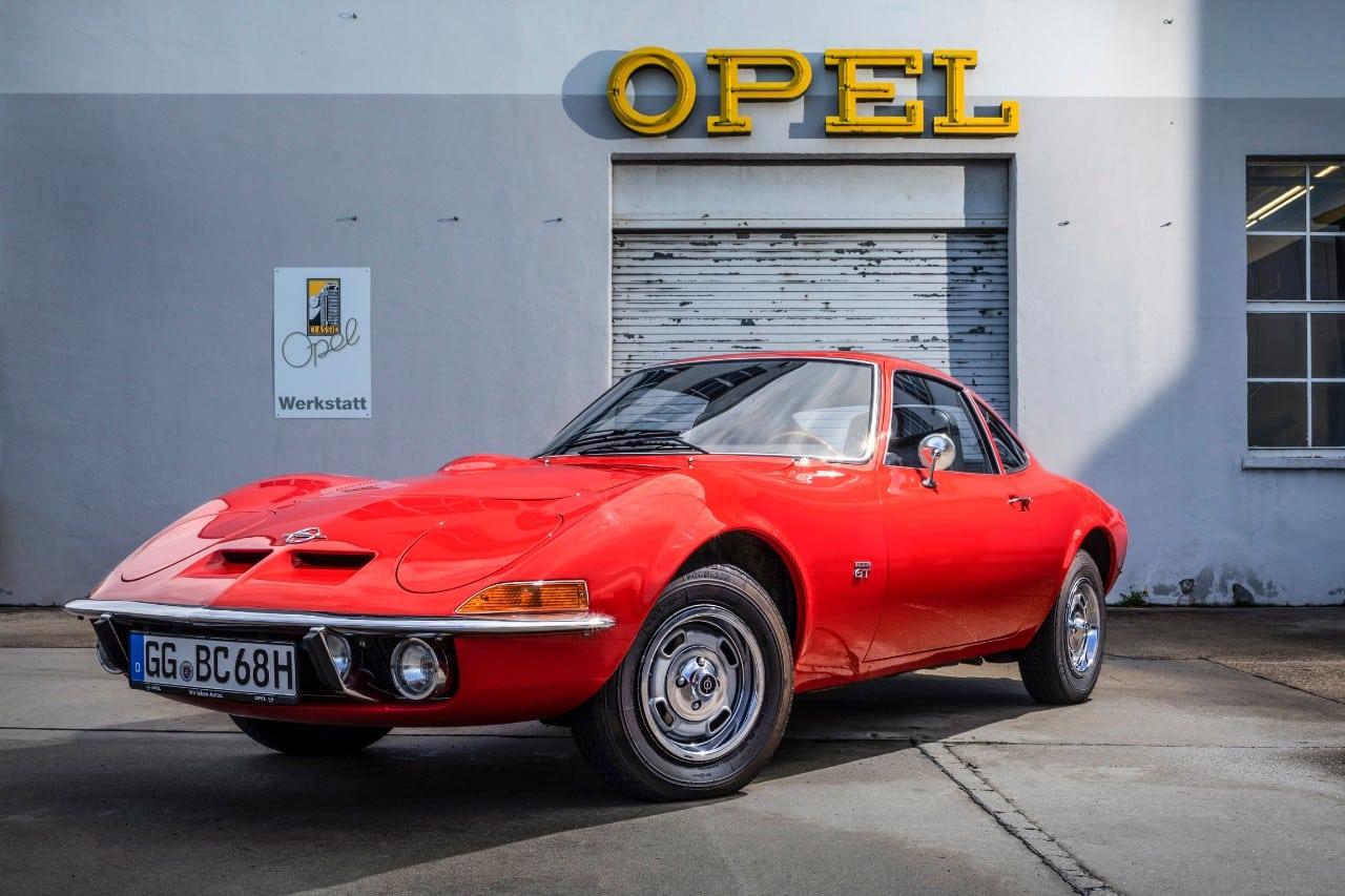 el Opel GT original que este 2018 cumple nada menos que 50 primaveras