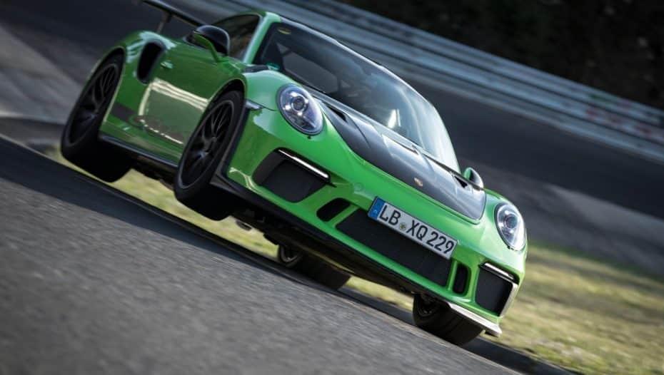 El Porche 911 GT3 RS vuela en Nürburgring y completa una vuelta en 6:56.4 minutos