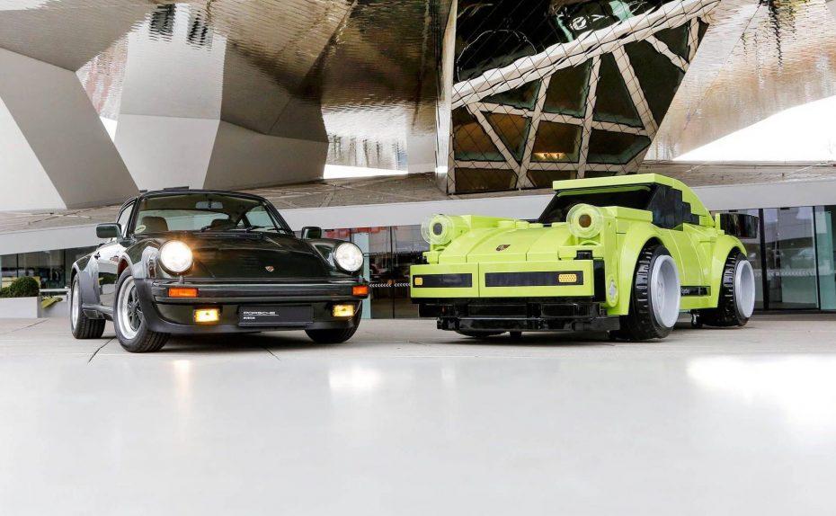 Porsche ha construido un 911 Turbo a escala real integramente en piezas de LEGO
