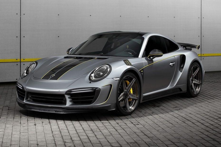 Porsche 911 Turbo Stinger GTR Felix Ferro: La última bestia de TOPCAR tiene mucha fibra y 750 CV