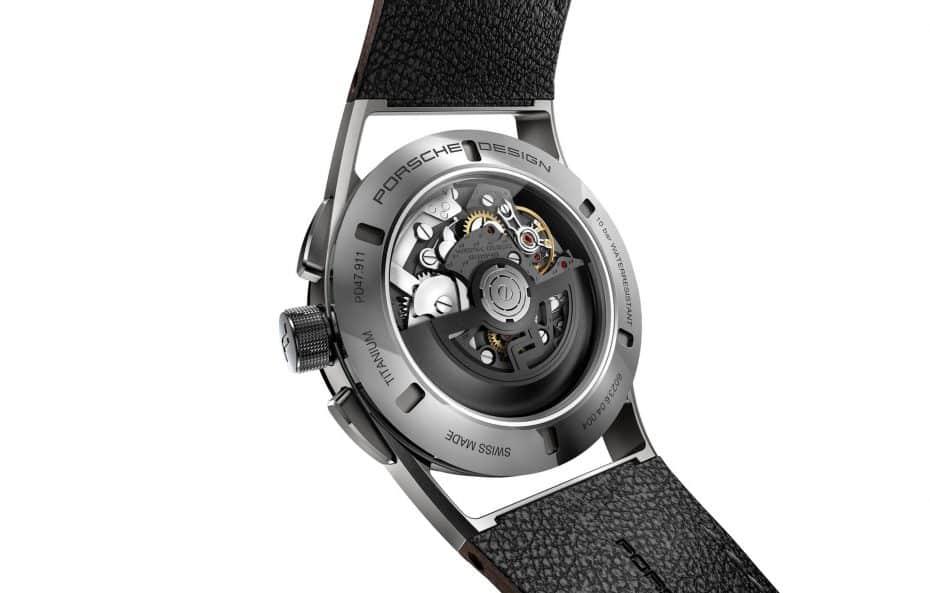 Porsche Design lanza una exclusiva línea de relojes 'Chronotimer Flyback Special Edition'