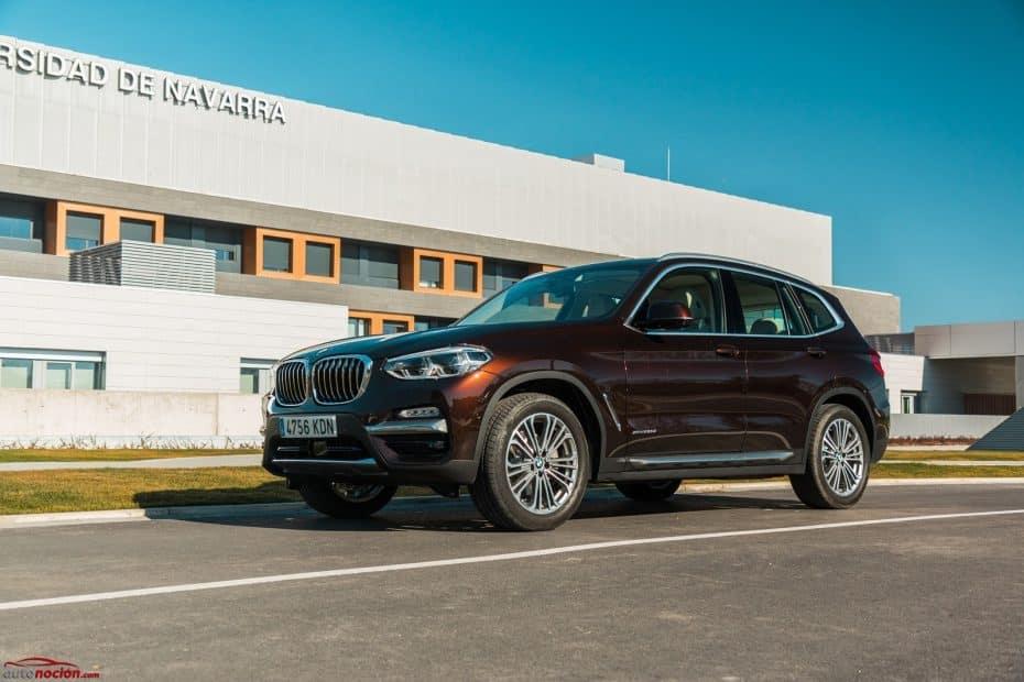 Prueba BMW X3 xDrive20d Luxury Line 190 CV: La opción más acertada de la gama