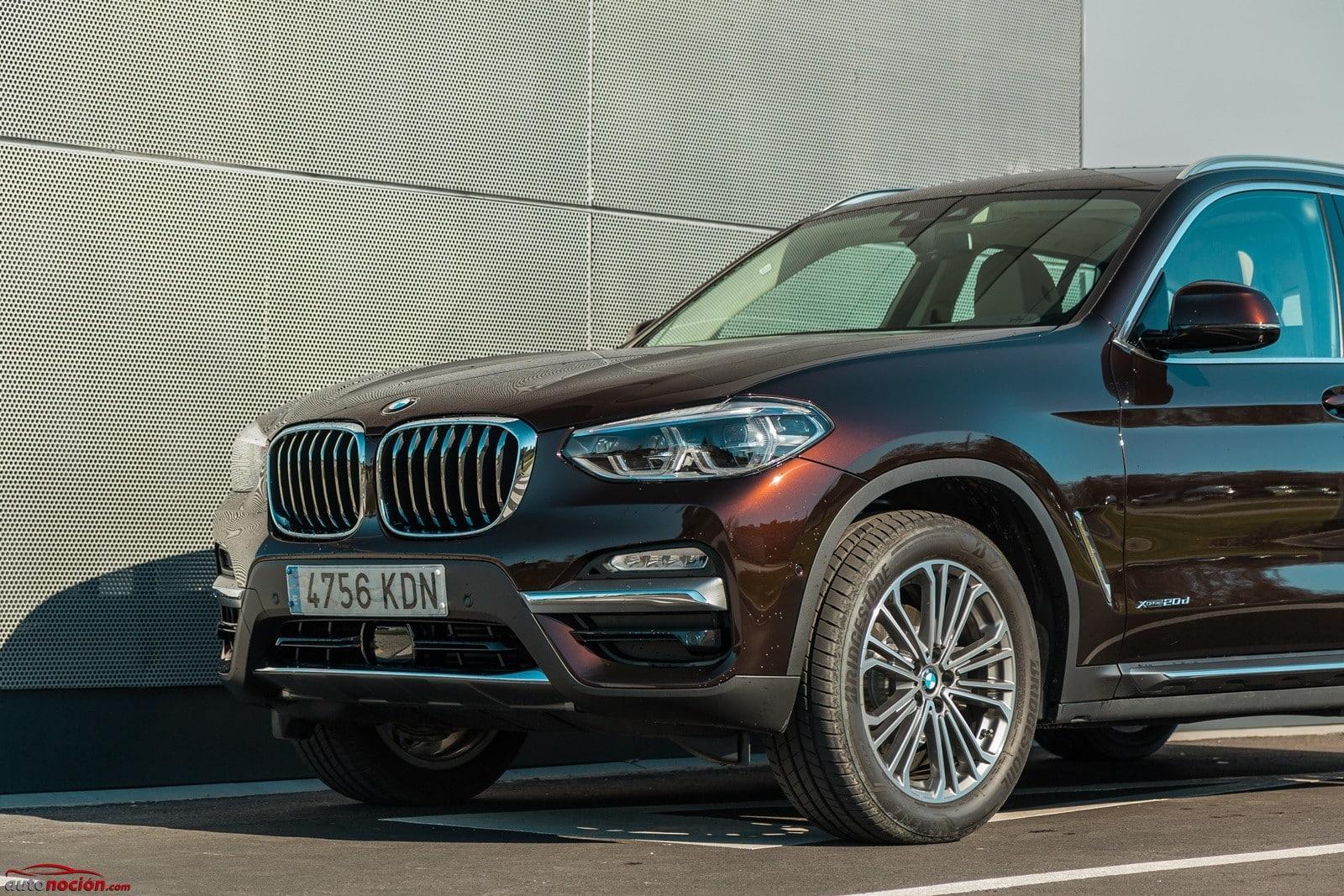 Prueba BMW X3 xDrive20d Luxury Line 190 CV: La opción más acertada ...