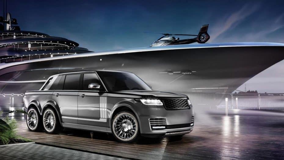 ¿Ha llegado el súmmum de la opulencia y el lujo? Te presentamos el Range Rover 6×6