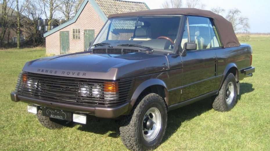 Dos Range Rover de sangre azul: Así son los dos exclusivos 4×4 que pertenecieron a Juan Carlos I