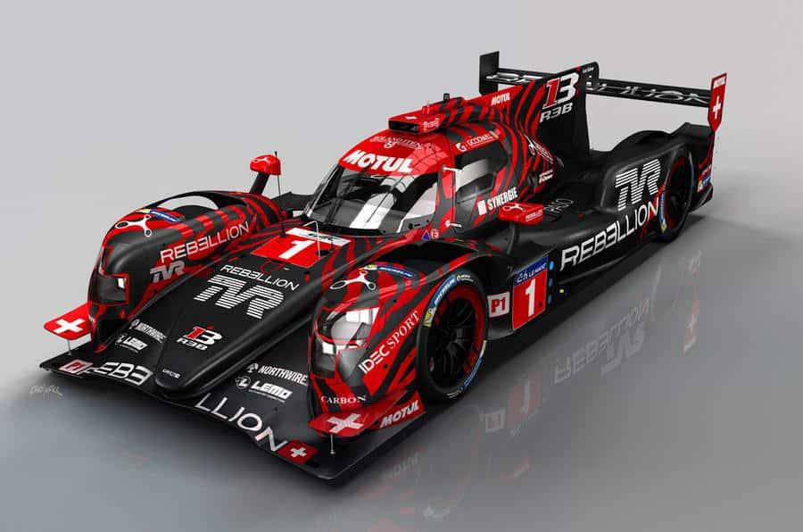 Tras 13 años de ausencia TVR vuelve a la competición de la mano de Rebellion Racing