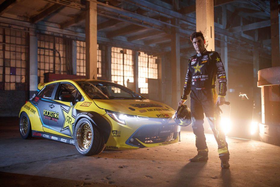 Este Toyota Auris preparado para la Formula Drift es una bestia salvaje con 1.000 CV