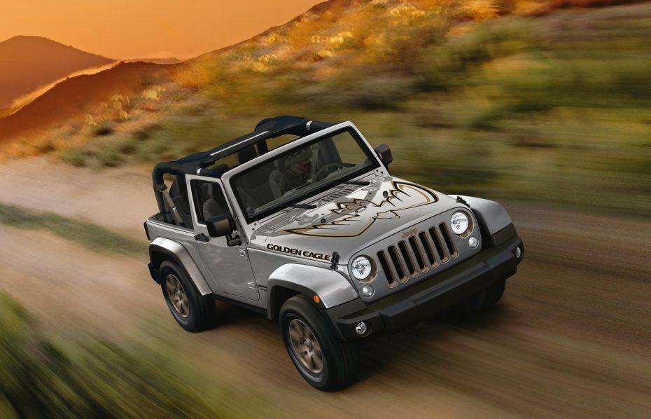 Ya a la venta la última edición especial del Jeep Wrangler JK: Se denomina «Golden Eagle»