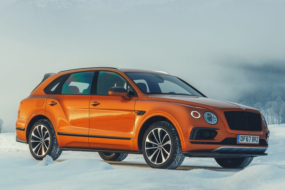 Nuevo Bentley Bentayga V8, estrella del inminente Salón del Automóvil de Pekín