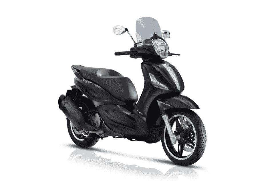 """El Piaggio Beverly """"Police"""", ahora también en 350cc"""