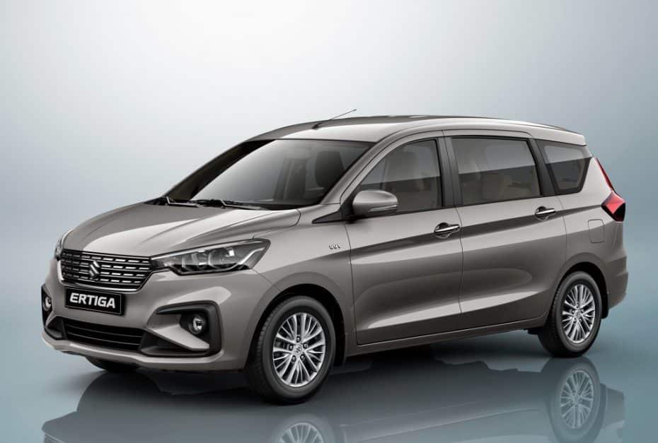 Primera imagen oficial del nuevo Suzuki Ertiga, el monovolumen súper-ventas