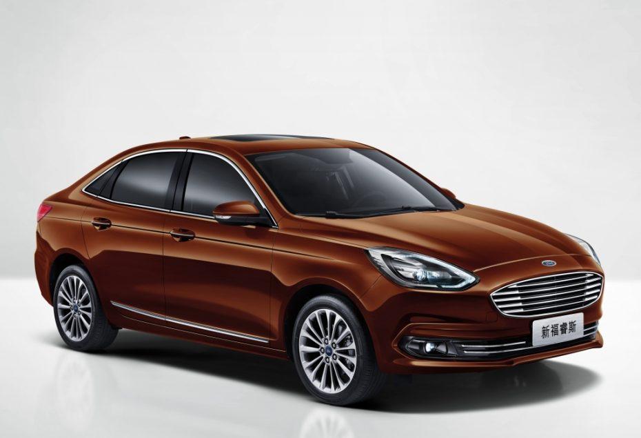 El Ford Escort se renueva para ganar empaque: Exclusivo para China y Taiwan