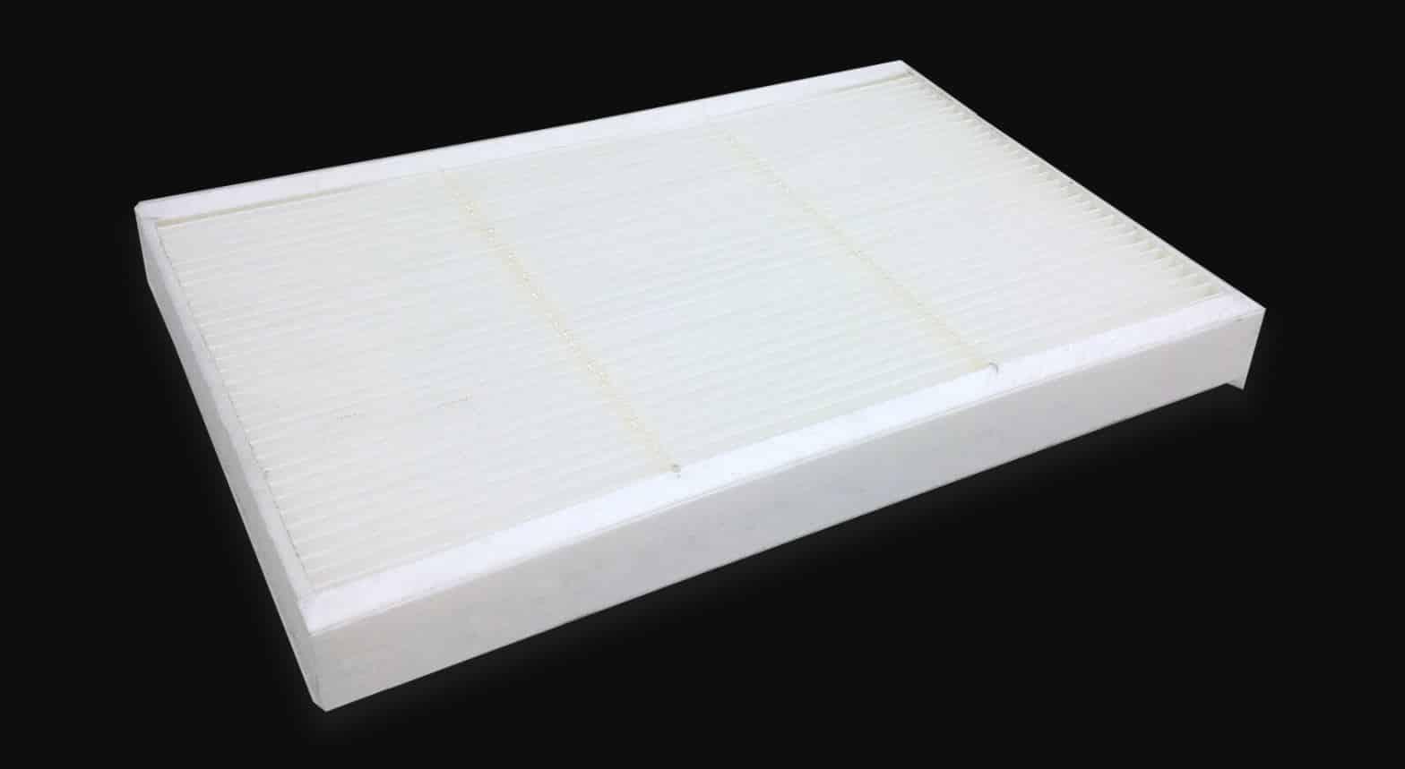 Hay filtros de papel algodón, de foam, los de aceite, de agua o de malla de acero