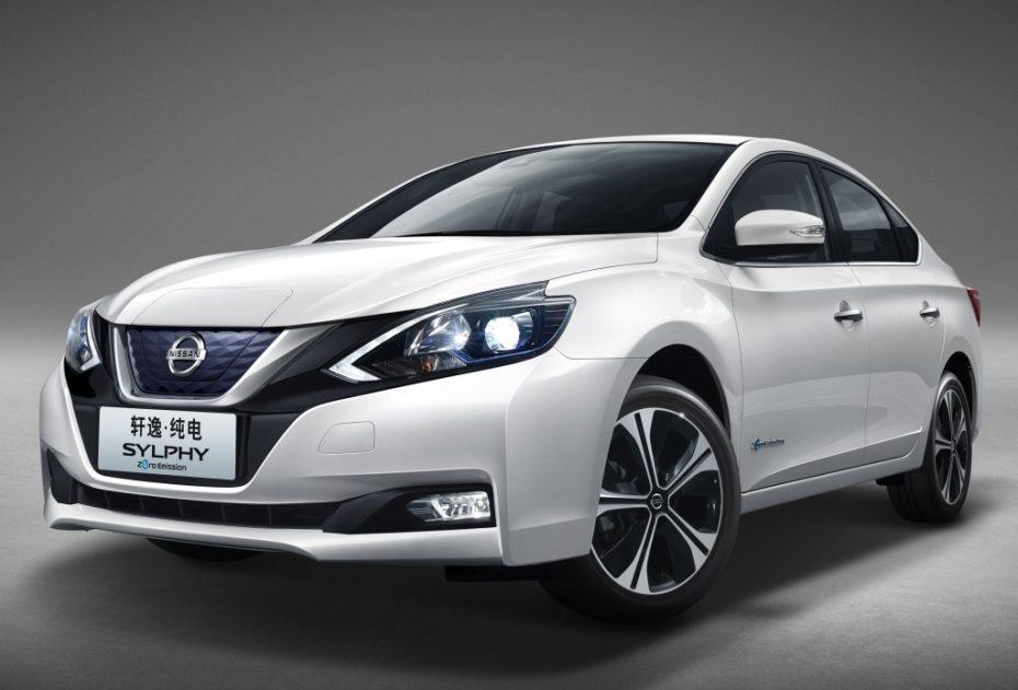 Nissan lleva a Pekín el «Sylphy Zero Emission»: La alternativa sedán al Leaf