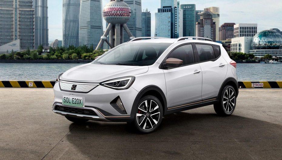 Aquí está el SOL E20X, el eléctrico de «SEAT» para China