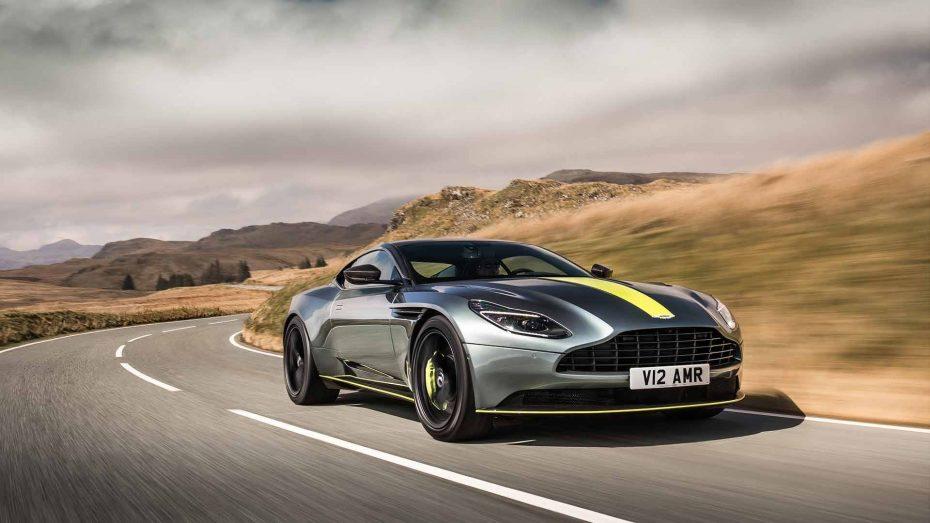Aston Martin DB11 AMR: La versión más picante y radical del DB11 alcanza los 639 CV y 700 Nm de par