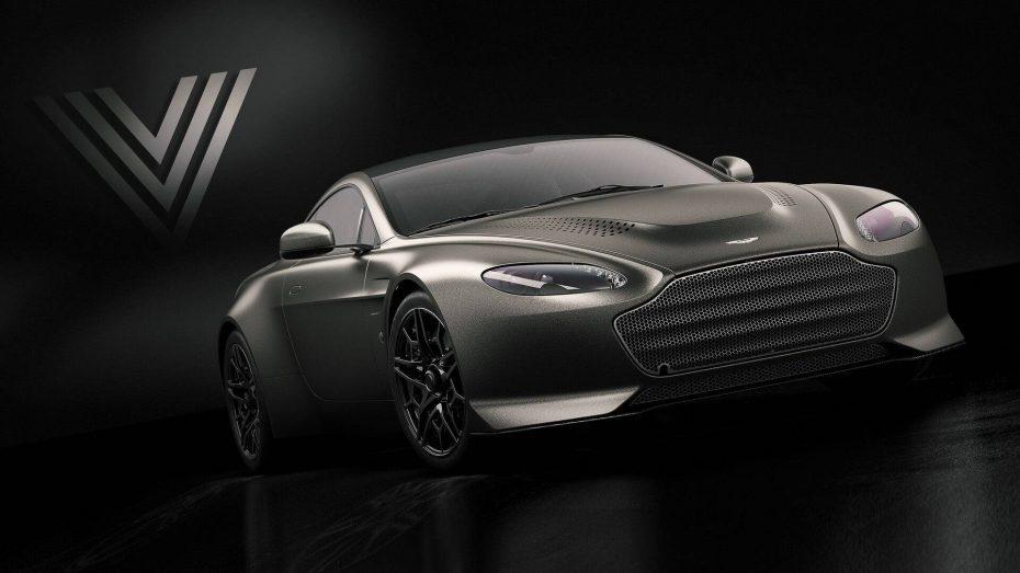Aston Martin V12 Vantage V600: La edición especial vuelve dos décadas después para despedirse del V12