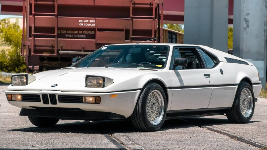 Este BMW M1 de 1981 apenas ha sido conducido, y ahora puede ser tuyo por una jugosa cifra