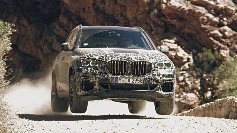 El BMW X5 2019 incorporará tecnologías únicas para ganar en agilidad, precisión, control y comodidad