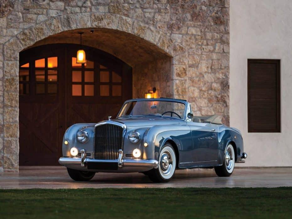 Bentley S1 Continental Drophead Coupé: Una joya a subasta para los amantes de elegancia