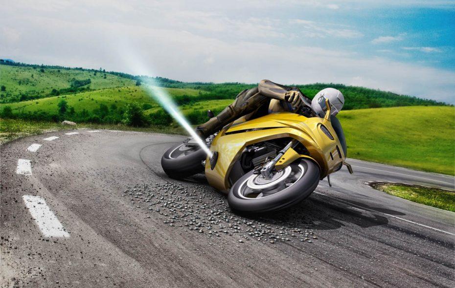 Lo último de Bosch para evitar caídas en tu motocicleta ¡Un chorro de aire a presión!