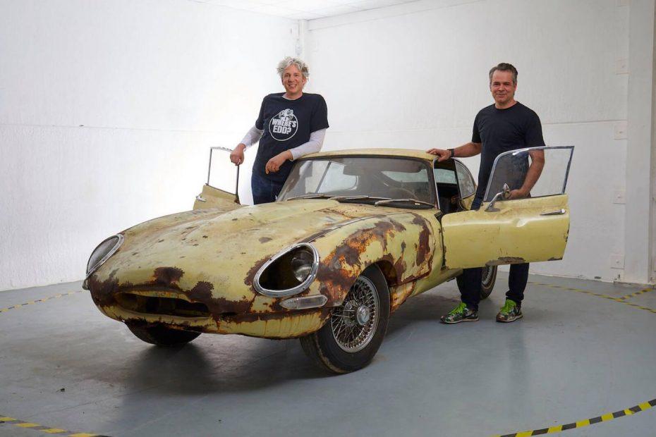 Edd China está de vuelta, y ahora busca tu ayuda para restaurar este Jaguar E-type Series I