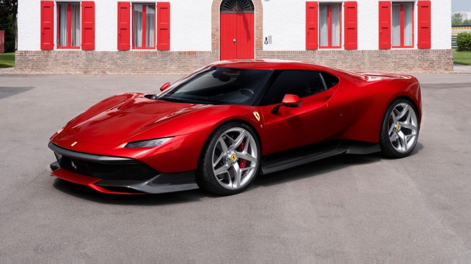 Saluda al Ferrari SP38: El exclusivo y seductor 'one off' basado en el 488 GTB