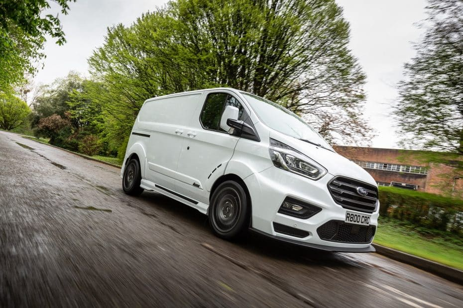 Ford Transit Custom MS-RT: La furgoneta más radical y deportiva del mercado es obra de M-Sport