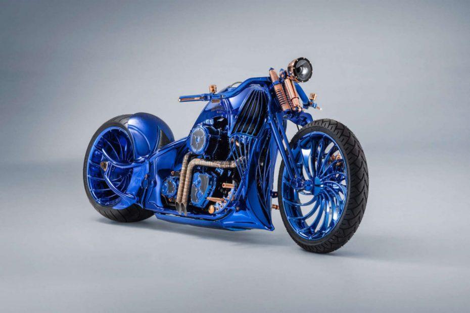 Harley-Davidson Blue Edition: Así es la motocicleta más cara del mundo firmada por Bucherer