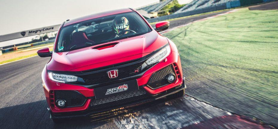 ¡Nuevo récord!: El Honda Civic Type R rompe el crono en Magny-Cours