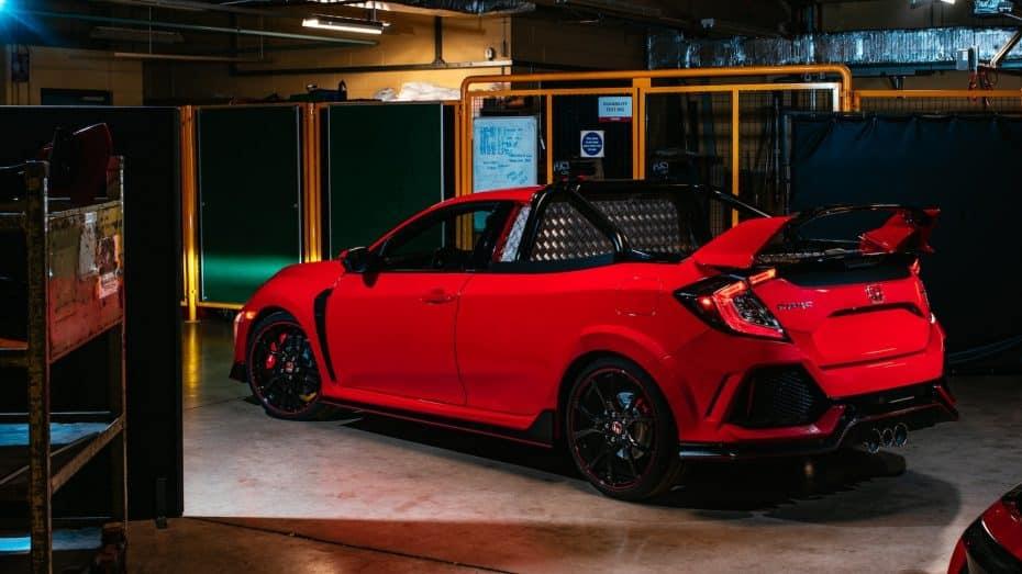 Este Honda Civic Type R pick up es lo más bizarro que verás hoy ¡Y quiere conquistar Nürburgring!