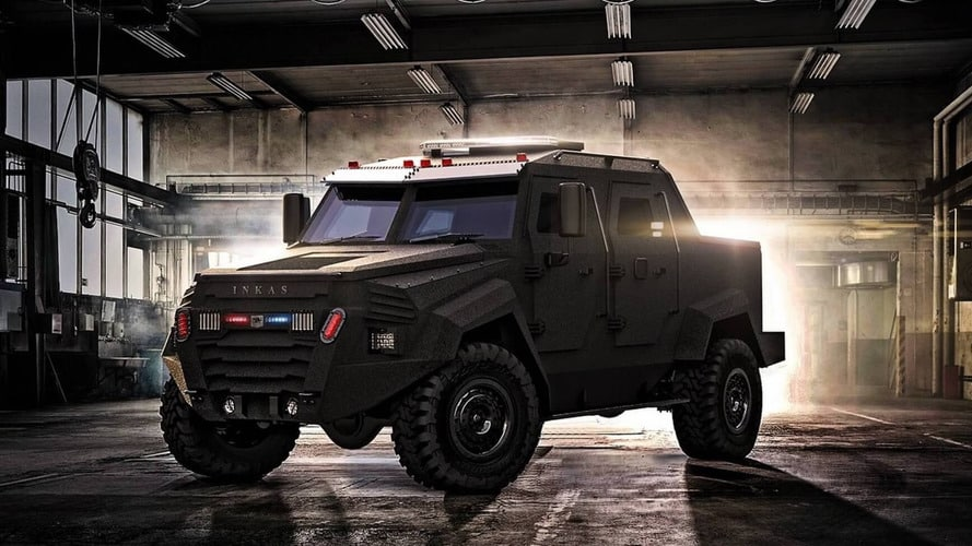 Inkas Sentry MPV: Una bestia capaz de llevar al SWAT al fin del mundo