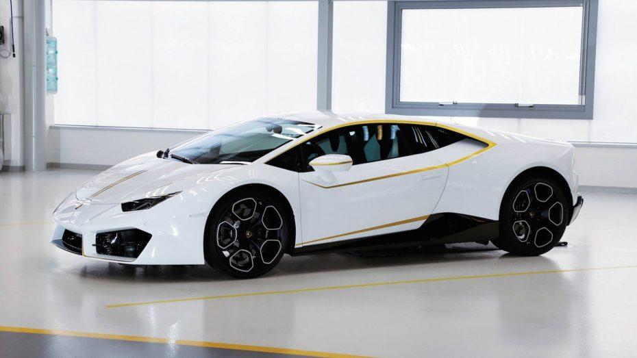 El Lamborghini Huracán del Papa Francisco ha cuadriplicado su precio en subasta ¿Crees que lo vale?