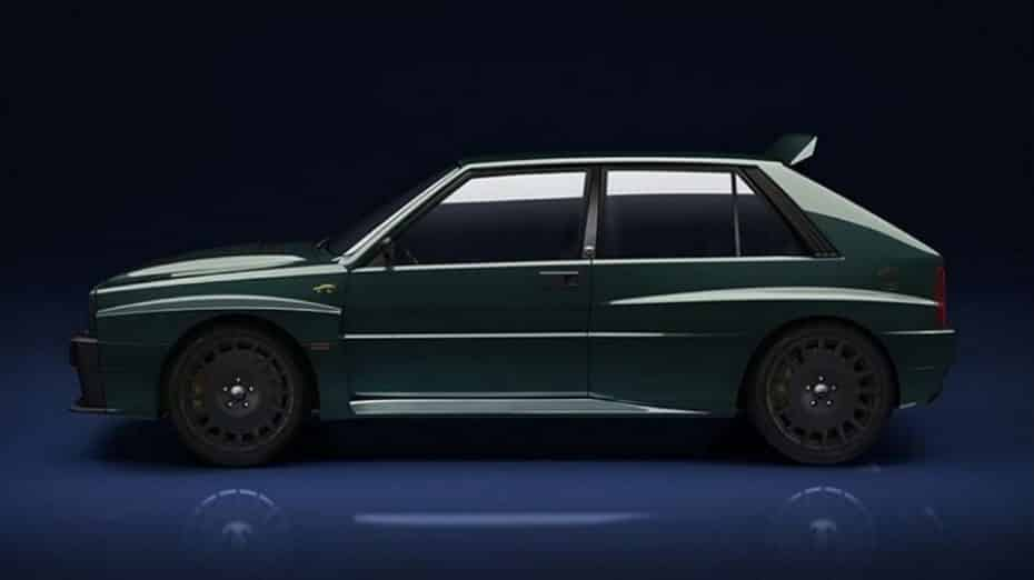 El Lancia Delta Integrale está de vuelta y aquí tienes un adelanto