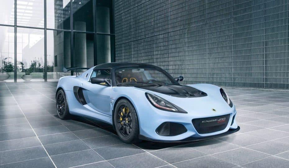 Lotus Exige Sport 410: El deportivo perfecto para disfrutar de la carretera con esencia de circuito