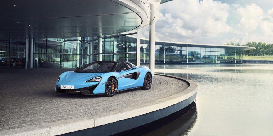 En apenas 7 años McLaren ya supera las 15.000 unidades fabricadas ¿Adiós a la exclusividad?