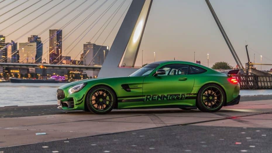 ¿Te parece Hulk poco poderoso? A ver qué tal este Mercedes-AMG GT R con 258 CV extra…