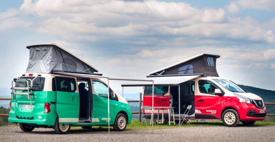 Nissan presenta las NV200 y NV300 en versión camper