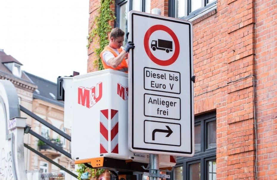 Continúa la guerra contra los diésel más contaminantes, ahora en Frankfurt