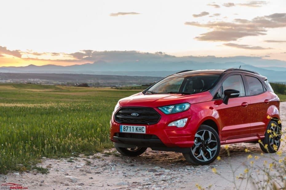 Prueba Ford EcoSport ST Line 1.0 EcoBoost 140 CV: Una evolución muy necesaria