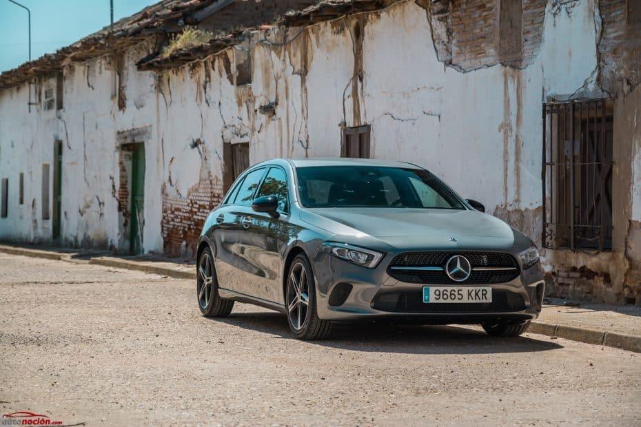 Prueba Mercedes-Benz Clase A 200 7G-DCT AMG Line 163 CV: Evolución exterior, revolución interior