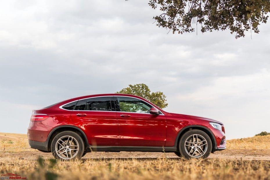 Prueba Mercedes-Benz GLC Coupé 220 d: Elegancia y dinamismo que no perjudican la comodidad
