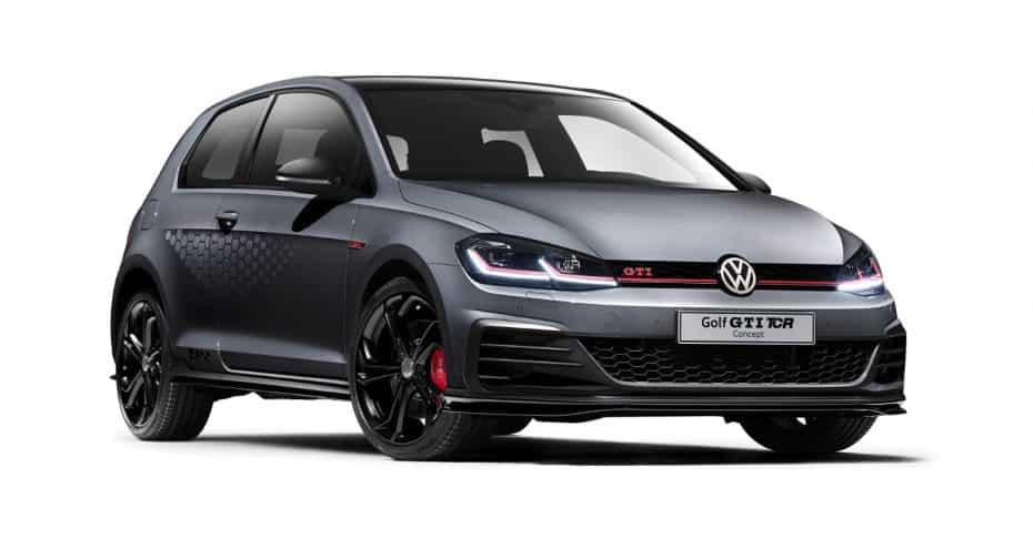 ¡Oficial!: Este es el Volkswagen Golf GTI TCR Concept que veremos a finales de año con 290 CV