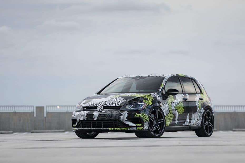 ABT ha vuelto a hacer de las suyas sobre la base del Volkswagen Golf R y el resultado es así de provocativo