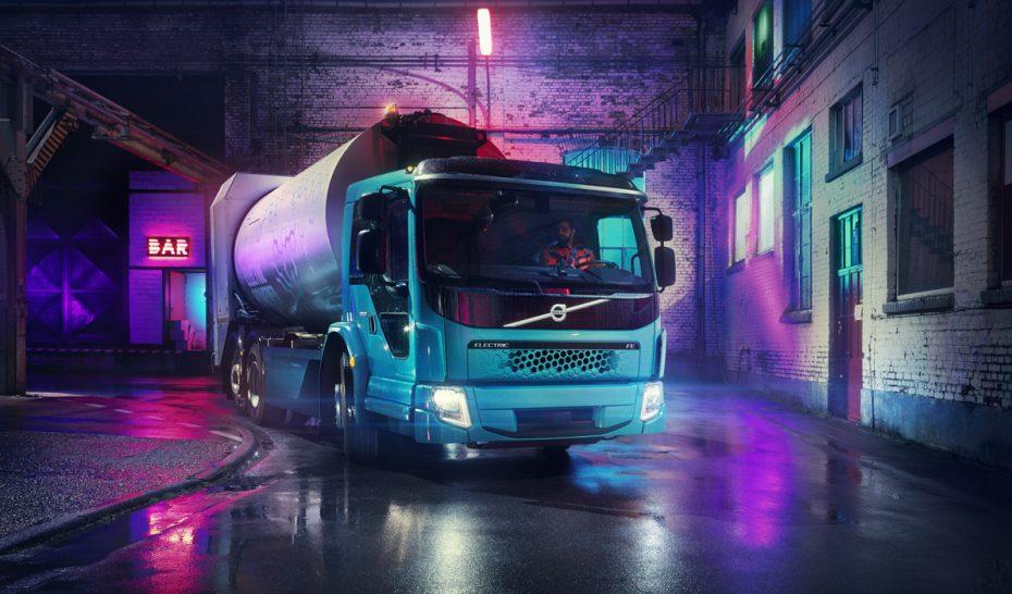 Volvo lanza su segundo camión eléctrico: El FE Electric con casi 500 CV y 200 km de autonomía