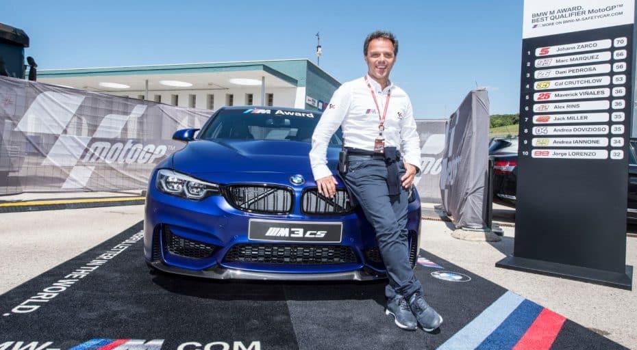¿Qué piloto de MotoGP se llevará esta temporada el BMW Award?: Hablamos de un BMW M3 CS