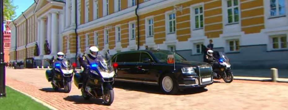Así es el nuevo transporte presidencial de Vladimir Putin: ¡Una auténtica bestia!