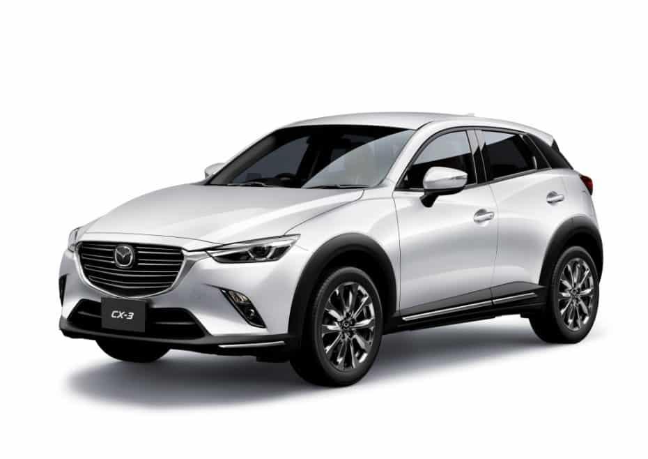 El renovado Mazda CX-3 estrena motor 1,8 litros diésel
