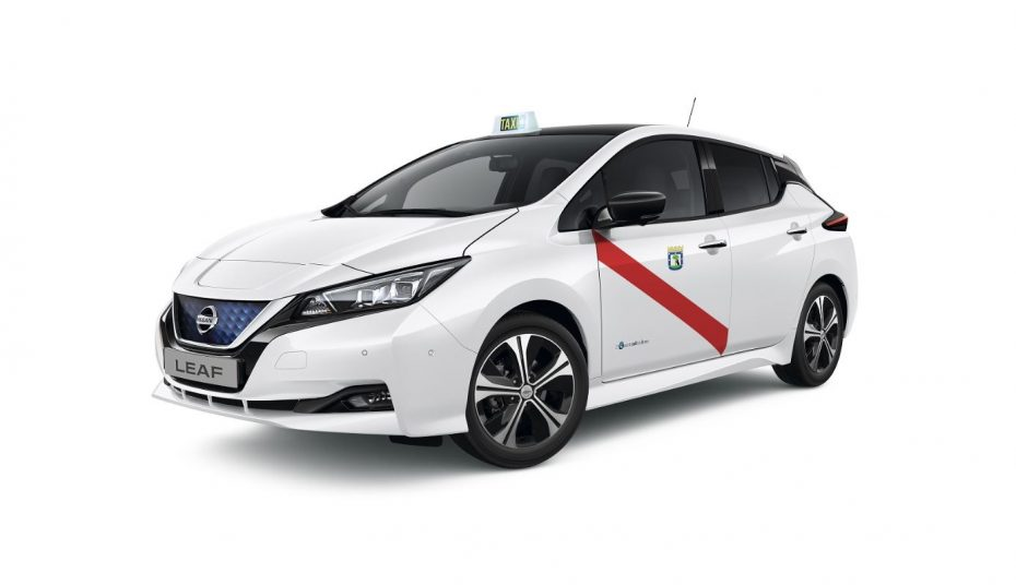 ¡Atento taxista!: El nuevo Nissan LEAF recibe su homologación en Madrid y Barcelona