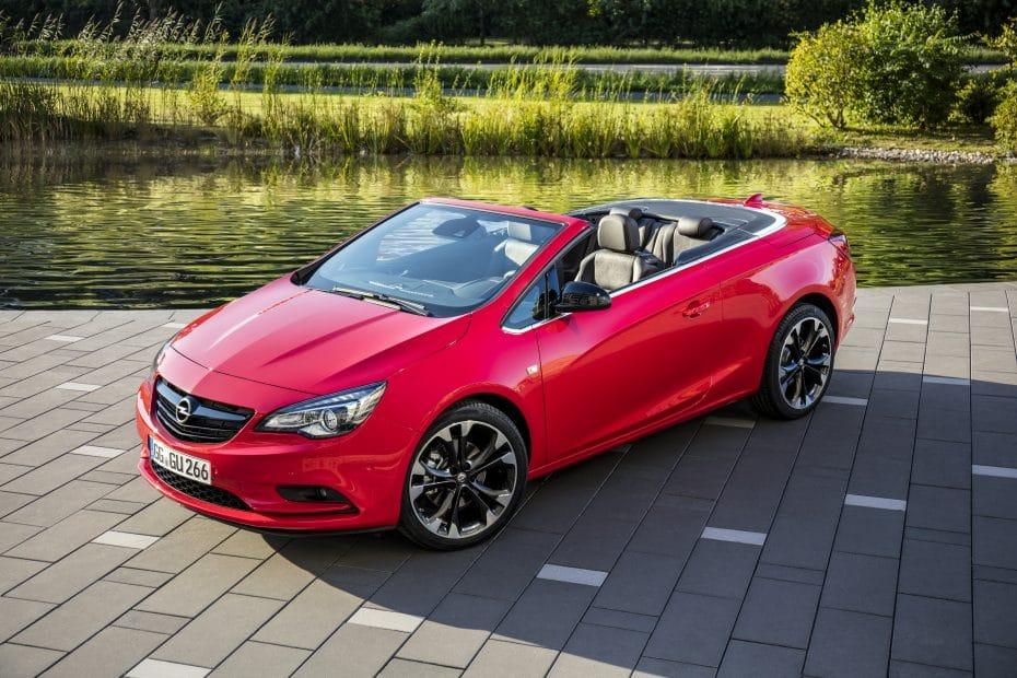 La gama Opel Cabrio estrena motor: Gasolina con 136 CV